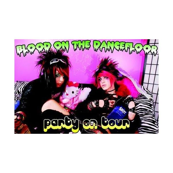 An image of Blood on the Dance Floor ❤ liked on Polyvore featuring botdf, bands, blood on the dance floor and pictures