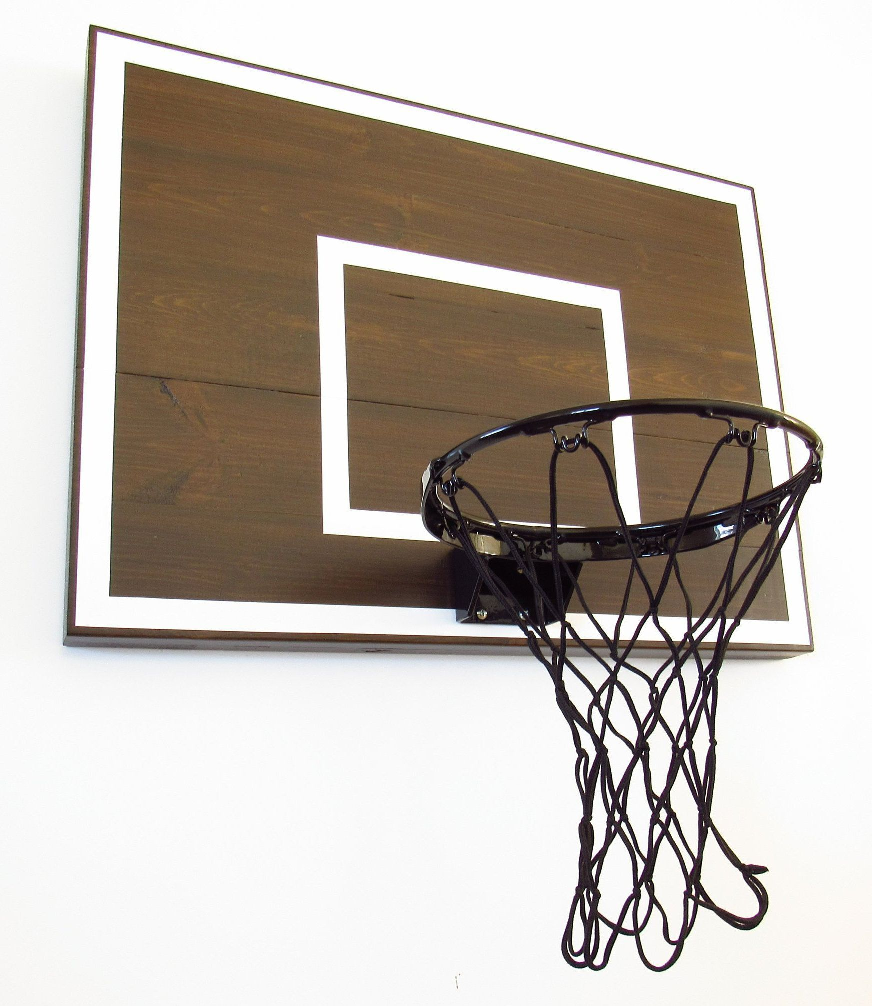 Modern Basketball Hoop For Bedroom Birthdays Players Men Etsy Sports Decorations Decor Basketball Hoop