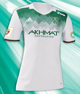 1ae6a88a9 Adidas Terek Grozny 16-17 Home and Away Kits Released - Footy Headlines
