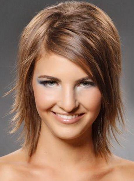 Medium hairstyle cut