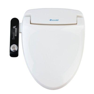 Brondell Swash Ecoseat 100 Toilet Seat Bidet Toilet Seat Toilet