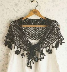 Crochet lacy shawls in all shapes and colors! - with their diagrams - this site is a gold mine!