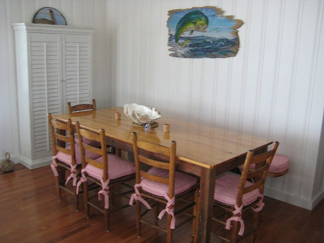 Ted Watts Dining Table, Pawleys Island Dining Room By Kerry Ann Dame Via  Flickr