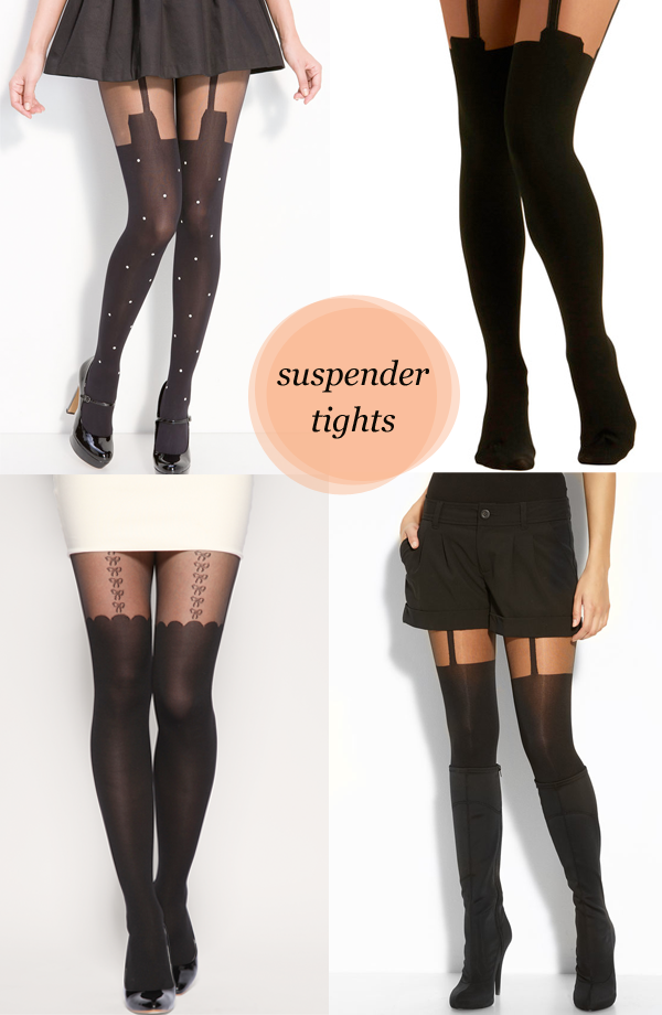 c3eba43865e69 I like suspender tights ❤ | Costumes | Suspender tights, Tights ...
