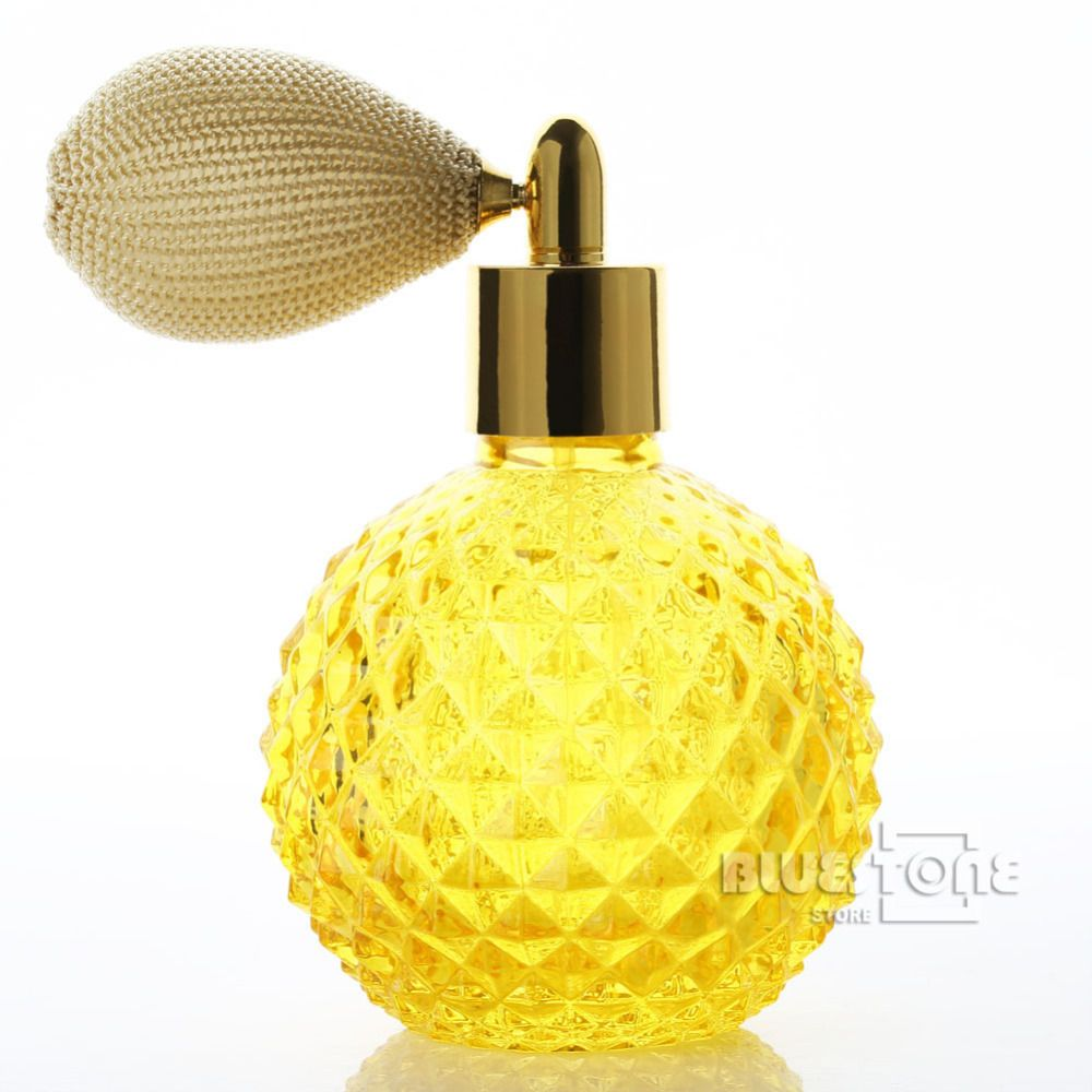 Botol Parfum Refillable Atomizer Spray Cheap Bottle Sleeve Buy Quality Pump Directly From China Hone Suppliers Vintage Crystal Perfume Yellow Short
