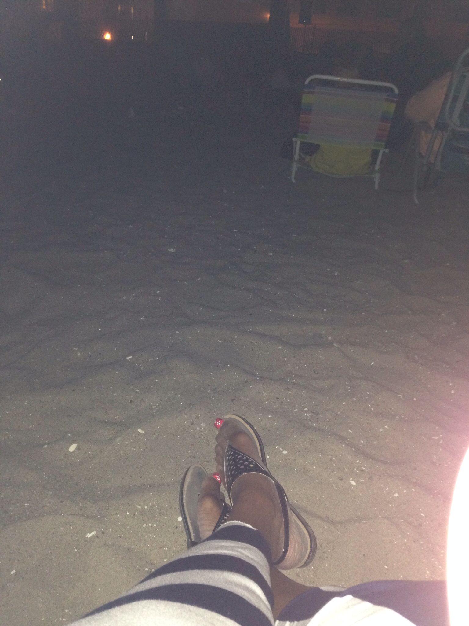 Movie night Sixteen candles on the beach!