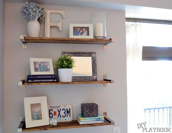 Ripiani In Legno Ikea : Rustic ikea shelves easy way to add storage decor click your