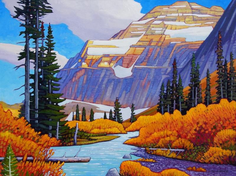 This Beautiful Painting by Nicholas Bott sure didn't take long to sell!
