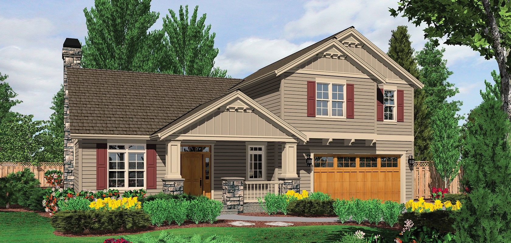 mascord plan 22143a the roland craftsman style house