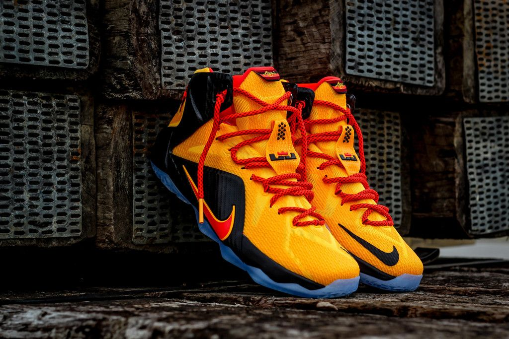 the latest 7873a 4effc Nike LeBron 12
