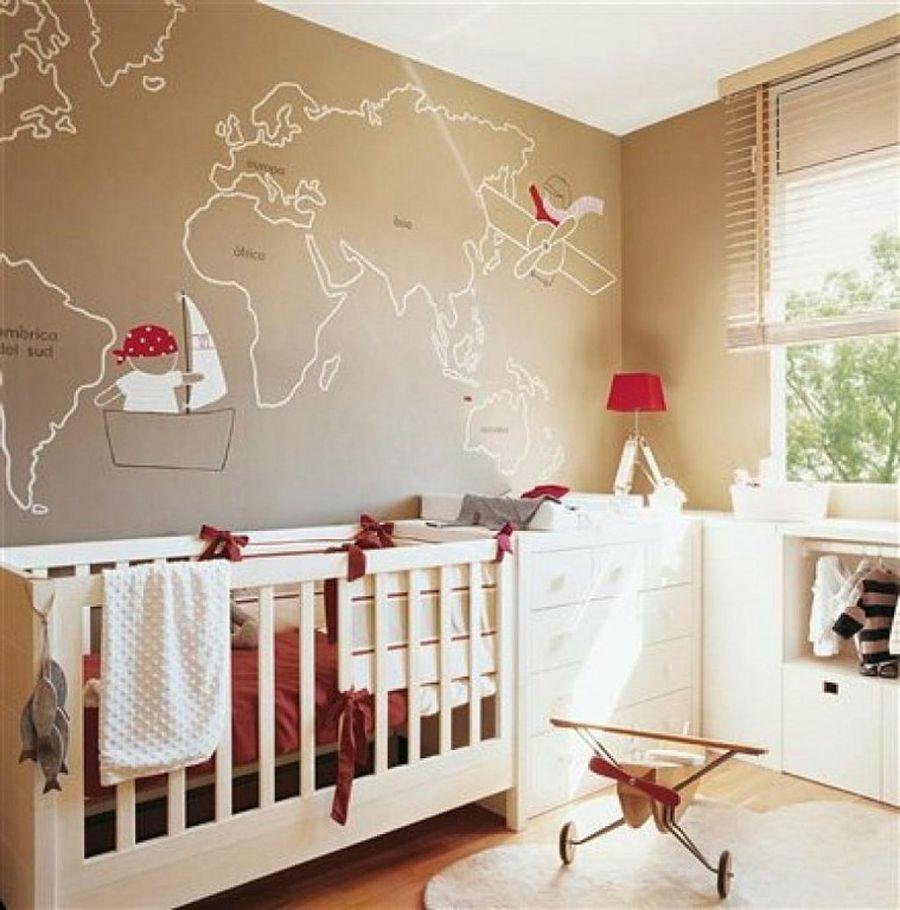 10 ideas para decorar paredes de cuartos infantiles   Cosas bonitas ...