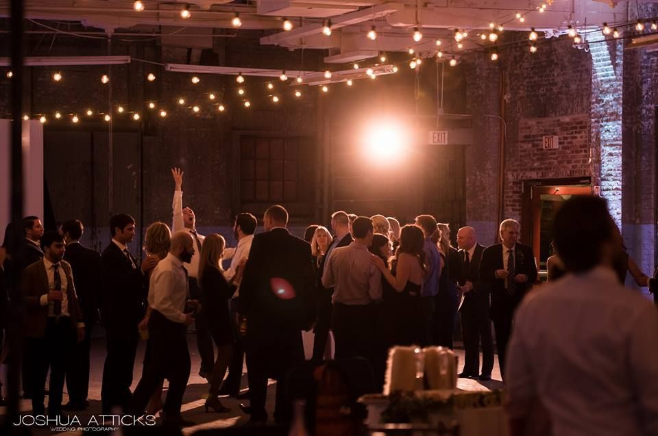 Warehouse Wedding Dancefloor Joshua Atticks Photography Portland Fascinating Maine Event Design And Decor
