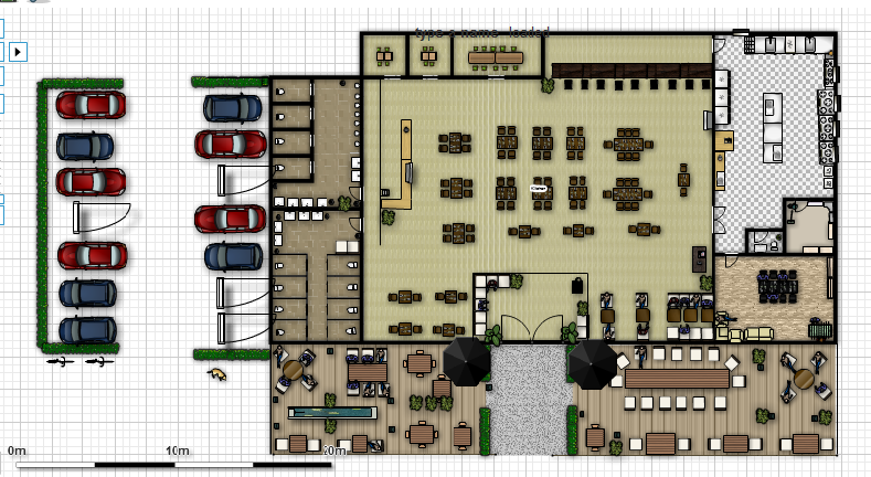 Restaurant Floor Plan Layout: Semester Four- Project Two And