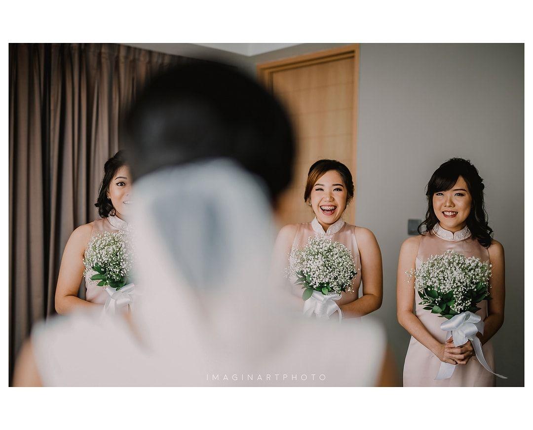Wedding of Helsa David Wedding, One shoulder wedding