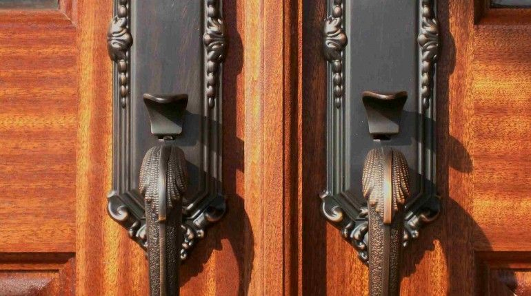 Front Entry Door Handles