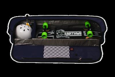 Silverfish Longboarding Skateboard Travel Bag Midlife Crisis