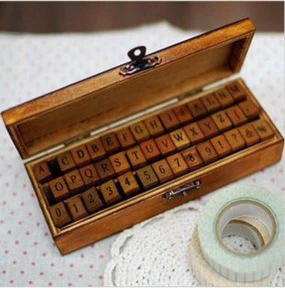 Antique Stamp Set