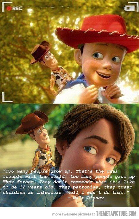 Walt Disney tells it like it is…