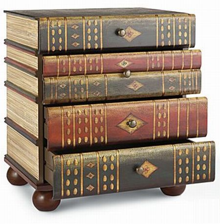 Image Detail For   Book Accent Table: Books That Are Not Meant For Reading!