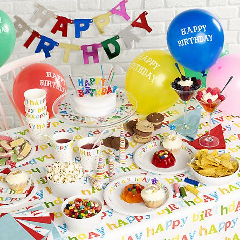 Buy Happy Birthday Party Online At Johnlewis Also Rh In
