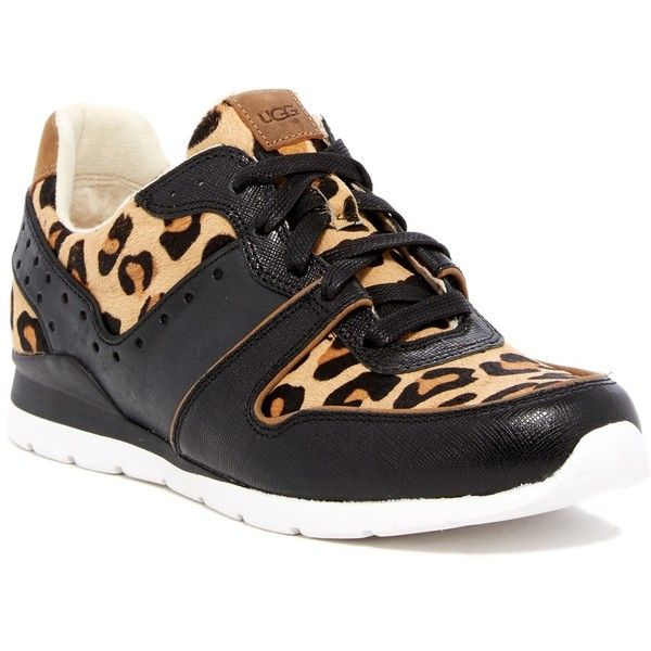 9f9520bf9db UGG Australia Deavon Genuine Calf Hair Sneaker ($100) ❤ liked on ...