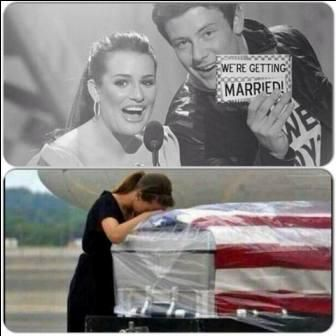 Cory Monteith Funeral | Cory Monteith and Lea Michele: The ...