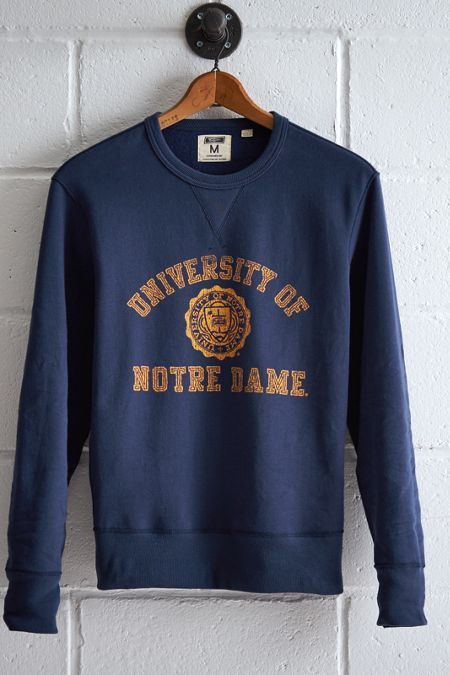 Champion Notre Dame Fighting Irish Sweater, University Apparel, Vintage 1990s, College Preppy Crewneck Shirt