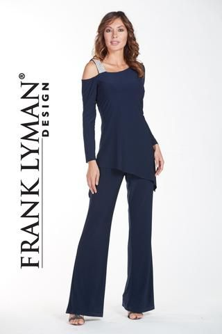ff889106c864 One piece jumpsuit with diamonte strap and cold shoulder. Proudly Made in  Canada.