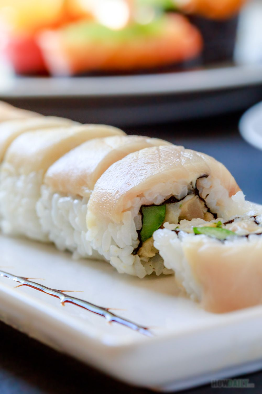 Yellowtail Roll Hamachi Roll In 2019 Sushi Roll Recipes