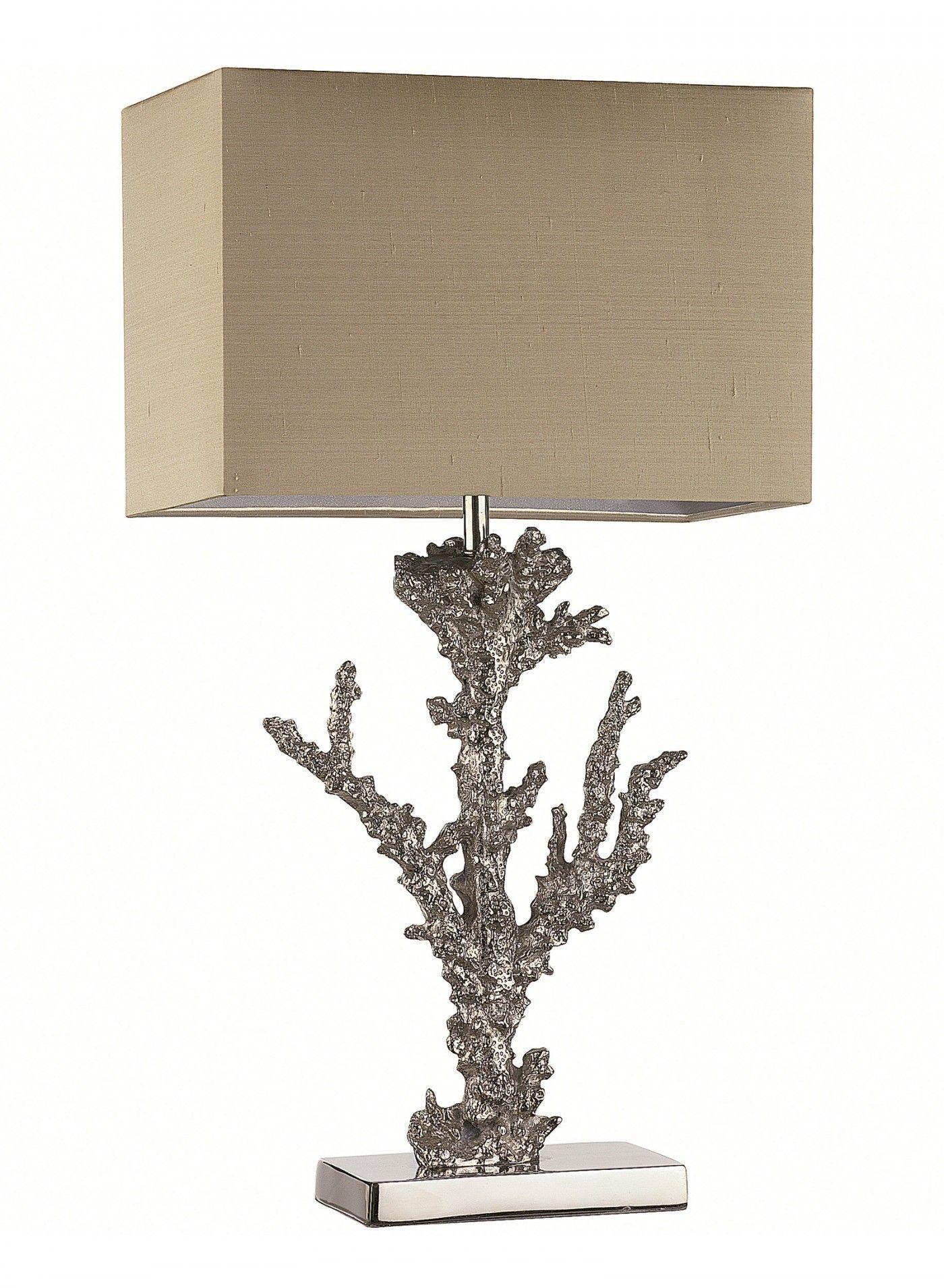Coral Table Lamp   Elegant Korall Lampa