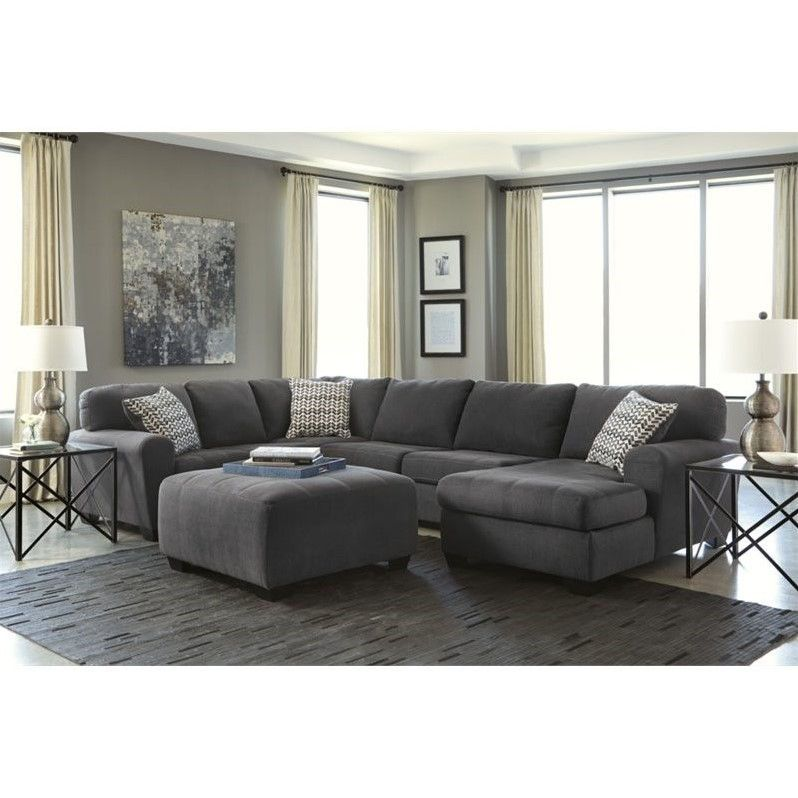 Ashley Sorenton 4 Piece Right Chaise Sectional With