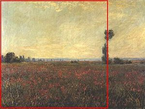 Claude Monet S Painting Of A Poppyfield Includes One Tall Tree At The Rightmost Border Of The Left Hand R Art Teacher Resources Claude Monet Paintings Painting
