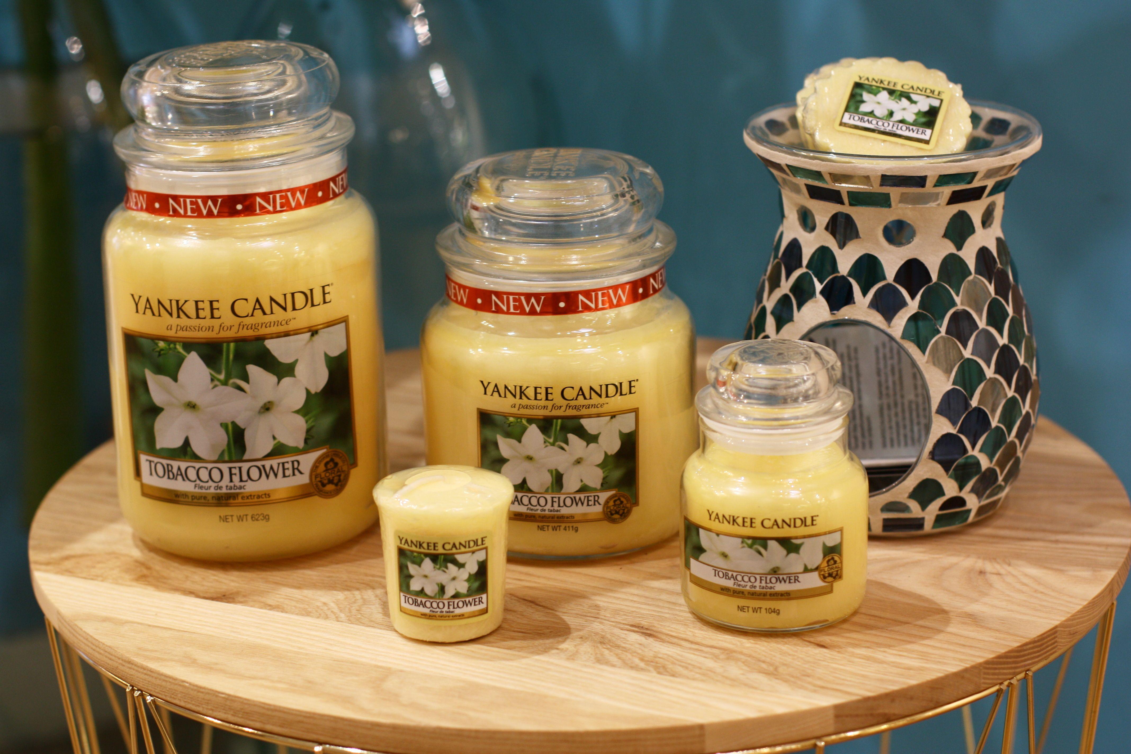 Fleur De Tabac Yankee Candle Une Bougie Parfumee Epicee Boisee