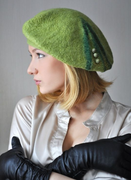 445d9e16218 ZARA - WOMAN - GREY FELT CAP