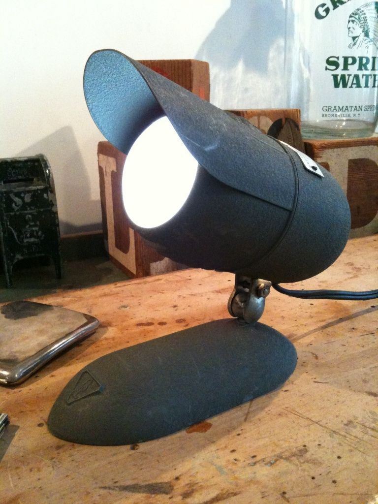 Bausch & Lomb Desk Lamp, ca. 1950s