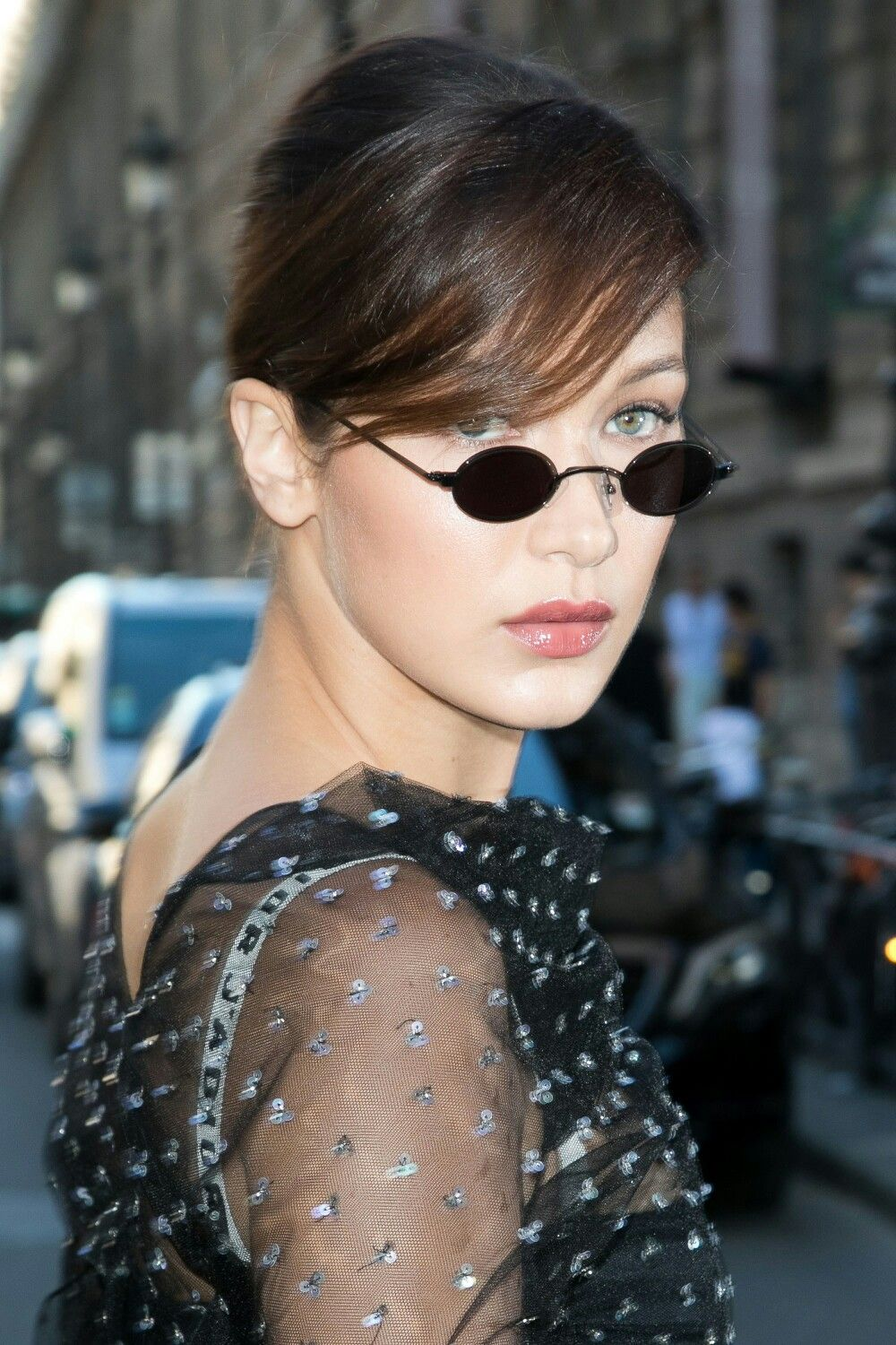 b117d4dcace8 How Tiny Sunglasses Became Summer 2017 s Biggest Trend - Vogue ...