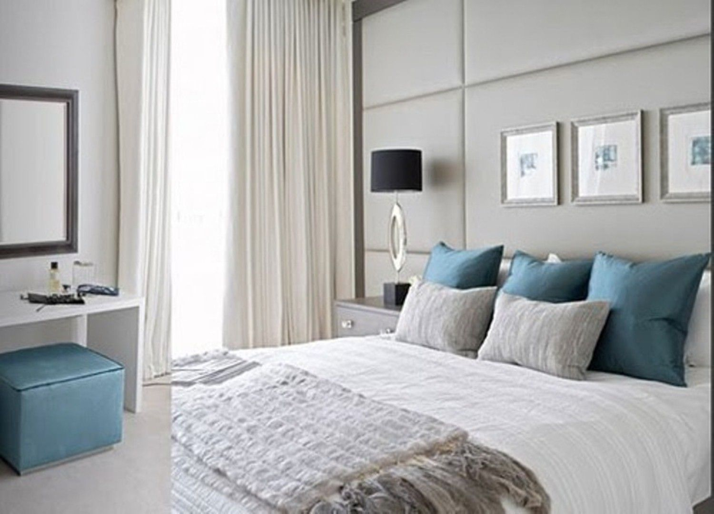 Blau-grau -Schlafzimmer Ideen | Traum zimmer | Pinterest | Graues ...