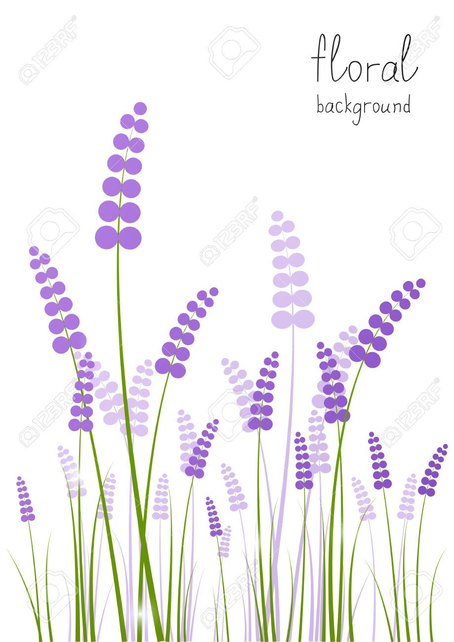 Lavender Flowers Background Clip Art Lavender Flowers Flower Icons Flower Backgrounds