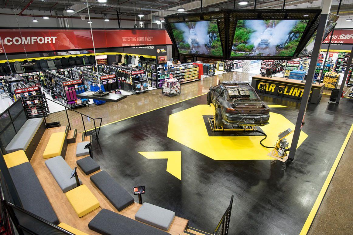 Supercheap Auto Customer Experience Design Automotive Showroom Experience Design
