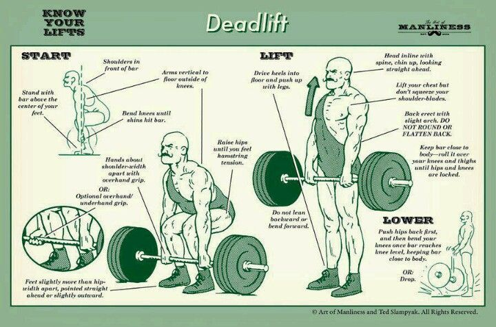 One of my favorite exercises! (You want a nice butt? Deadlift!)