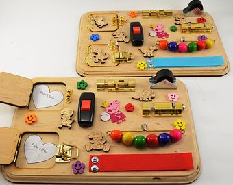 Toy for travel Sensory board Wooden busy toys Mini activity board Travel busy board Montessori Toy for autism Gift 1st Baby gifts