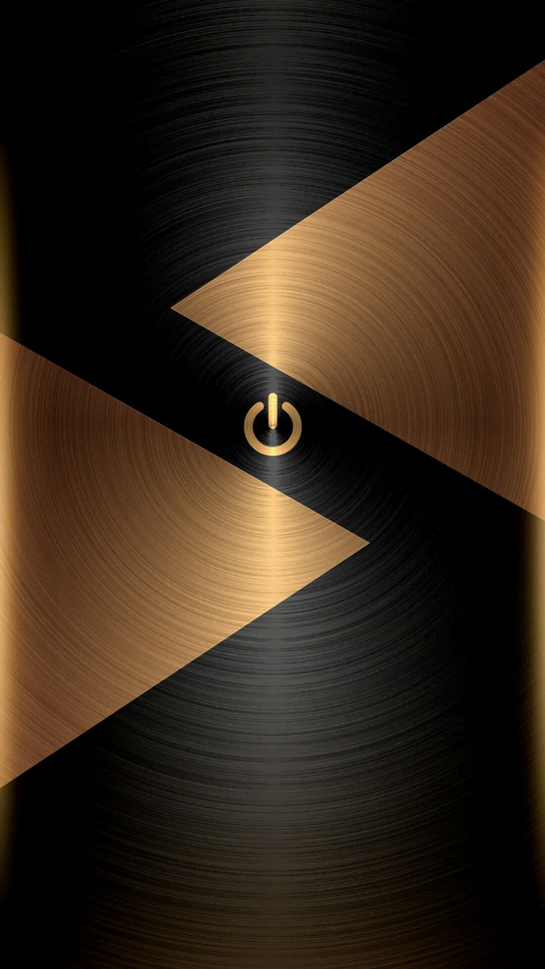 Black And Gold Wallpaper Wallpaper Ponsel Latar Belakang Gambar