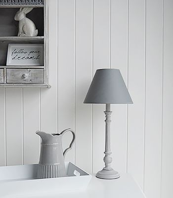 Grey bedside table lamp range of grey and white lamps for fast grey bedside table lamp range of grey and white lamps for fast delivery from the mozeypictures Image collections