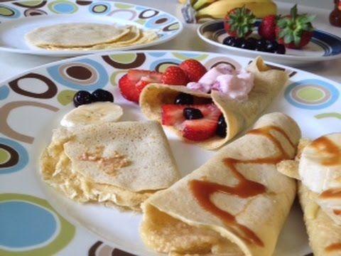 Crepas De Avena Recetas Saludables Para Niños Hechoxmamá Desayuno Para Niños Recetas Saludables Desayunos Nutritivos