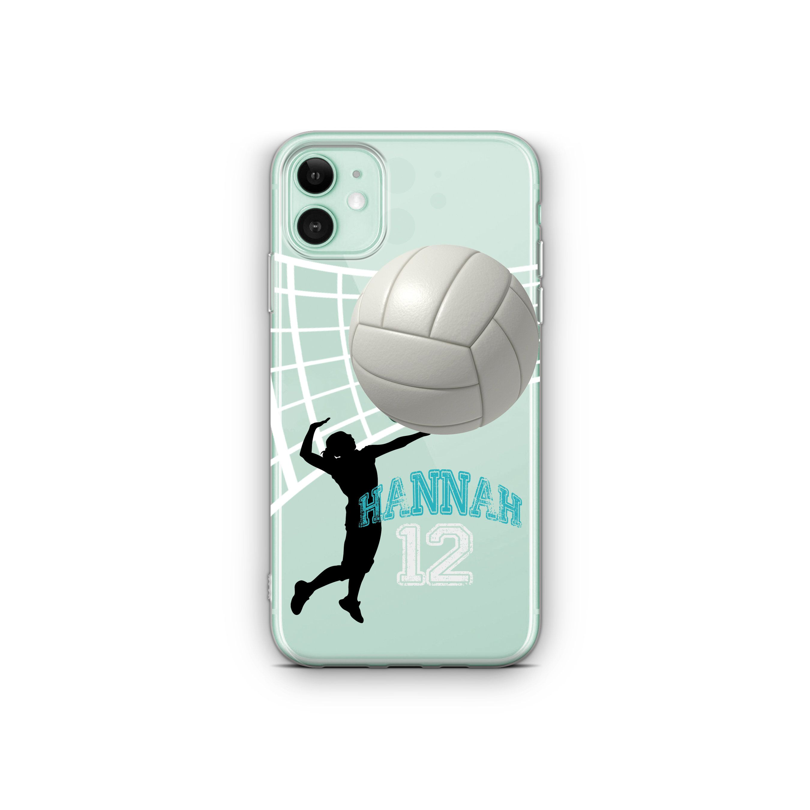 Clear Custom Volleyball Case Personalized Volleyball Case Iphone 11 Case Iphone X Case Iphone Xs Max Xs Iphone Xr Case Iphone 8 Plus Samsung In 2020 Volleyball Phone Cases Volleyball Iphone Case Iphone Cases