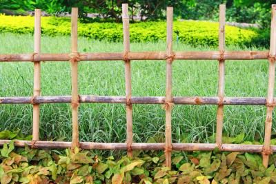 How To Landscape Fences To Keep A Dog Out Of A Garden