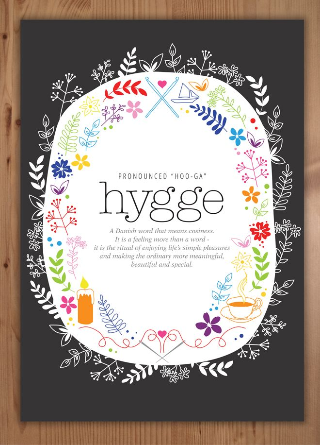 Design by claire hygge a free printable poster - Hygge design ideas ...