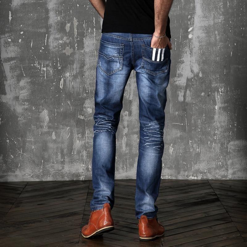Pantalones Vaqueros Hombre Modernos Moderno Chicos Chico Hombres Pantalones Vaqueros Hombre Jeans Hombre Moda Hombre