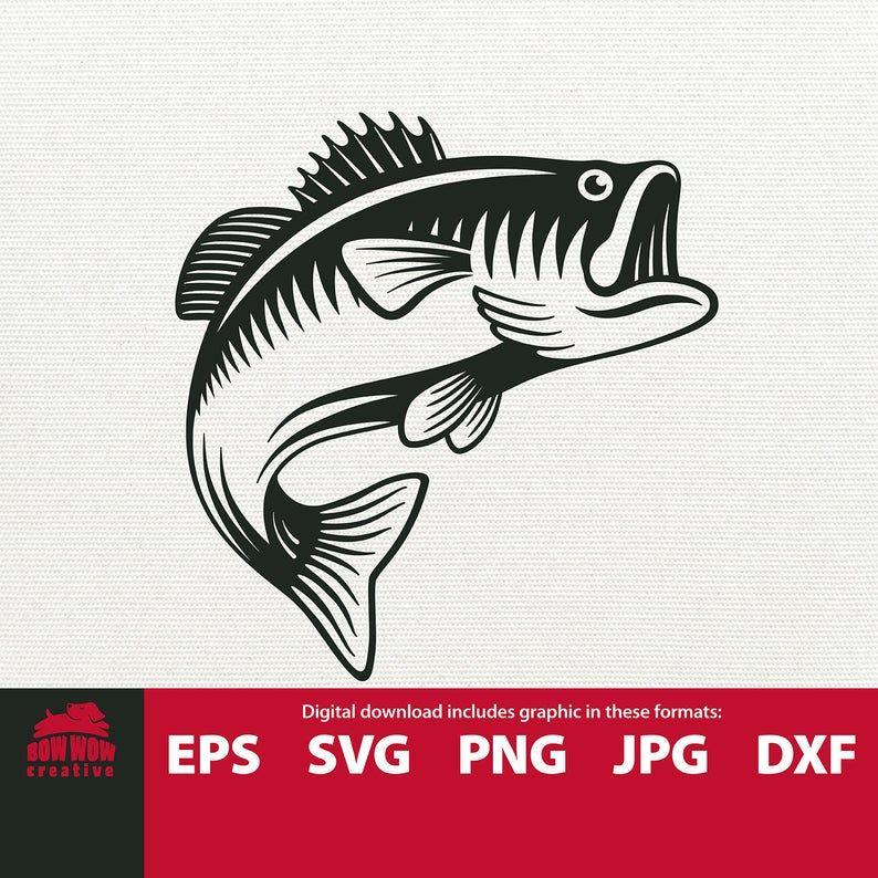 Download Jumping Bass Svg Jumping Fish Fishing Svg Fish Svg Fish Clip Etsy Fish Svg Fishing Svg Fish Clip Art