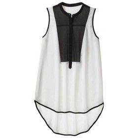 9c64ae6561c Mossimo® Women's Sleeveless Tuxedo Tunic - A... : Target Mobile ...